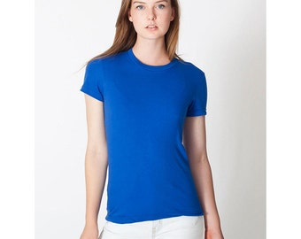 American Apparel 2102 Women's T-shirt - Any Design in Our Shop with Custom Colors - Ladies Tee