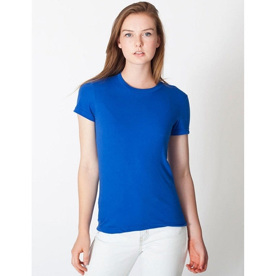 American apparel 2102 women 39 s t shirt any design in our for American apparel custom t shirts