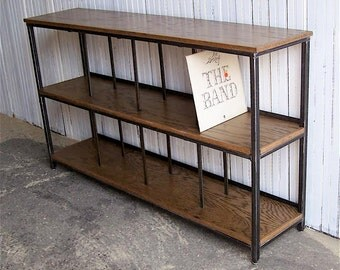 Elegant Record Player Stand // Stereo Console // Record Cabinet // Vinyl Record  Storage