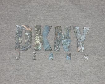 Vintage 1990s DKNY Rave Hip Hop T Shirt