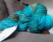 "25% OFF! - Sock Yarn - ""The Robins Egg"" - Superwash Merino Nylon 463 Yards"