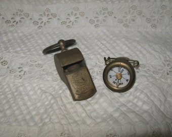 Marble's Compass and Spalding Whistle