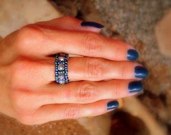 Beaded ring ~ Customized bead ring