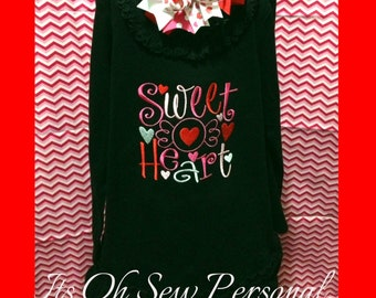 Sweet heart DRESS & BOW