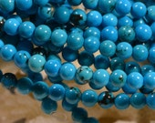 Turquoise 4 mm Beads Gemstone Beads Jewelry Making Supplies