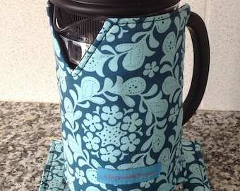 French Press Warmer / Coffee Cafetière Cosy / Press Pot Sleeve