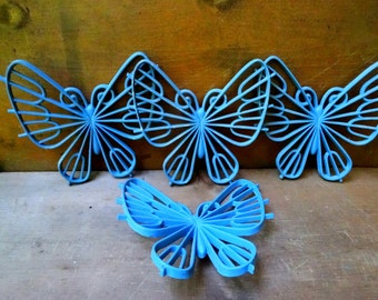 Vintage butterfly wall hangings home decor
