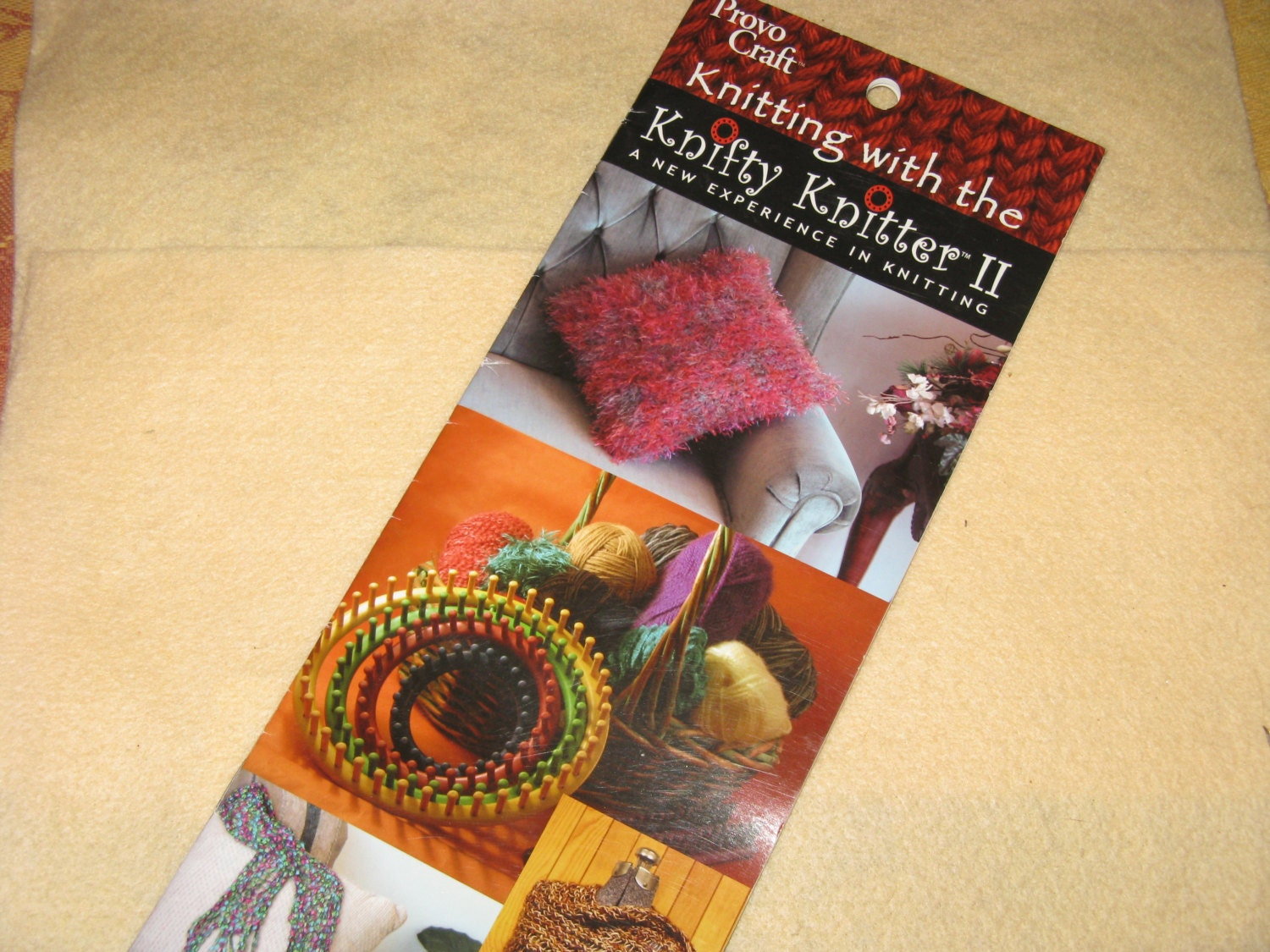 provo craft knifty knitter knitting loom knit craft pattern