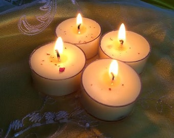 Renewal Artisan Tealight Set with Prehnite