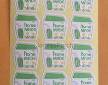 3 Sheets HOMEMADE Seal Stickers for Gift Wrap Scrapbooking Packaging