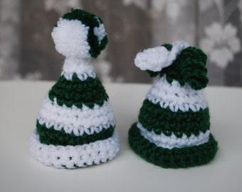 Easter decoration,set of 2 egg hat.