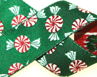 Peppermint Candies Jacquard Trim 7/8 Inches wide