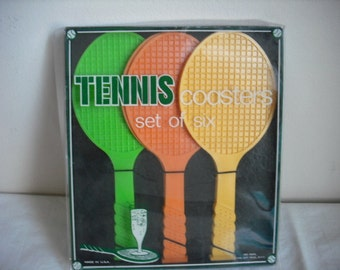 Tennis Coasters Set of 6