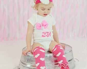 Baby Valentine Shirt-- Babies First Valentine's Day-- Girls First Valentine's Day-- Baby Valentines Day-- First Valentines tutu- Valentine
