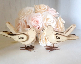 Love Birds Cake Topper, Wedding Cake Topper