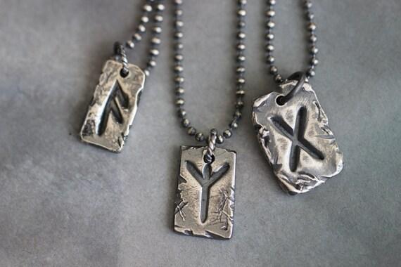 aligiz rune charm sterling silver rune charm elder by
