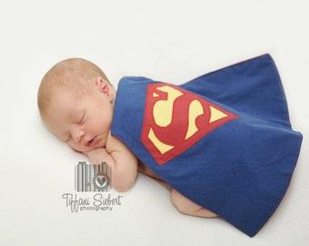 Newborn Photo Prop Super Hero Cape