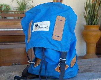 Vintage Nylon backpack 1970's MEDALIST UNIVERSAL