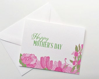 Mother's Day Card / Illustrated Card