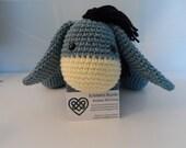 Crochet Eeyore Inspired Softie