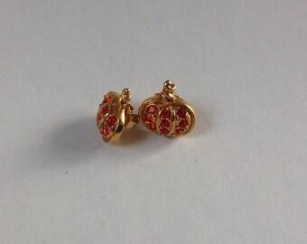 Vintage Avon Pumpkin earrings