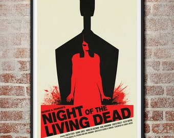 George A. Romero's Night of the Living Dead Movie Poster
