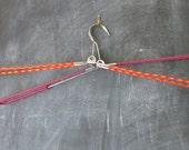 Vintage Folding Clothes Hangers - Retro - Travel Accessory