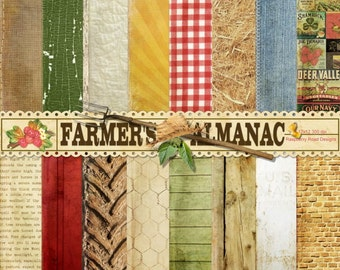 Farmers Almanac Paper Set