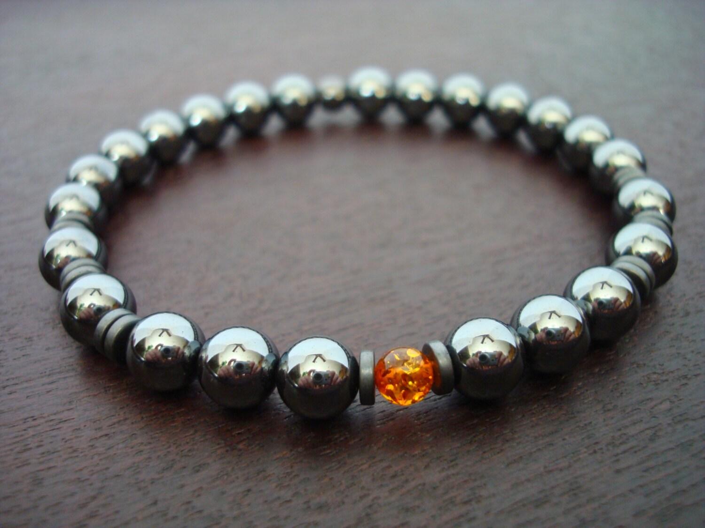 s hematite mala bracelet s
