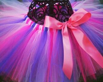 Pink and Purple PRINCESS tutu pink and purple tutu skirt