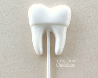 Dentist Chocolate Tooth Pops (12)