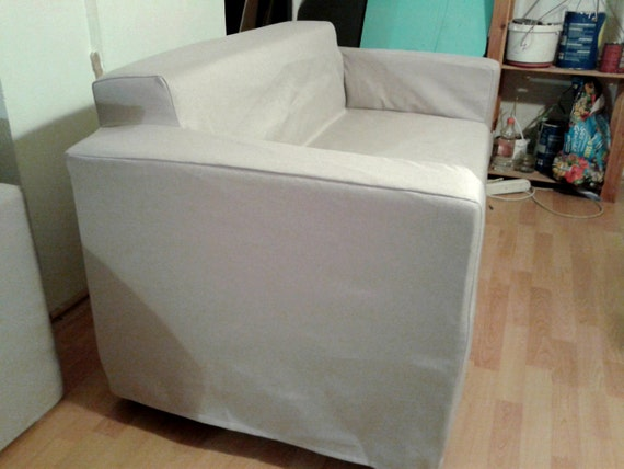 SALE Slipcover For Klobo Sofa From IKEA Nice By KustomCovers