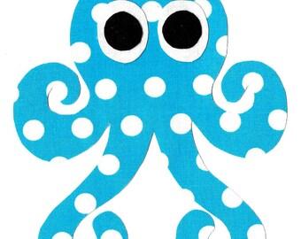 Octopus iron on applique DIY