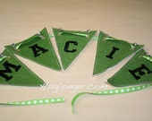 In The Hoop Blank Banner Embroidery Files
