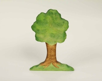 Wooden Tree - Wood Toy - Nature Table - Waldorf