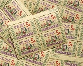 SALE! - 50 pieces - 1964 5 cent Homemakers - Vintage unused postage stamps - great for wedding stationery, scrapbooking, crafts
