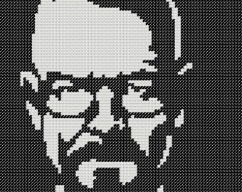 PATTERN: Walter White Cross Stitch