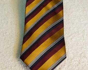 Vintage Authentic Ermenegildo Zegna Silk/Cotton Tie