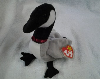 Ty Beanie Baby Loosy THE GOOSE