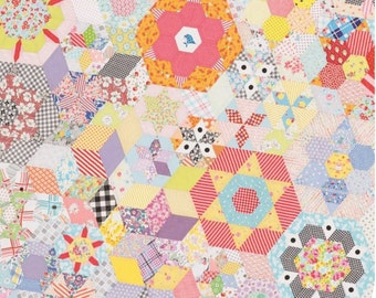 Smitten Quilt Pattern by Jen Kingwell Designs