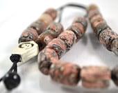 Worry bead with semi precious Jasper beads - Greek Komboloi
