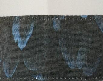"Nevermore No Slip Headband Spoonflower Fabric 1.5"""