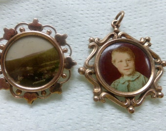 Vintage  Jewelry Brooch and Pendent