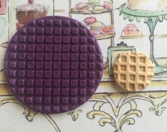 Flexible Mold - Waffle Texture #2