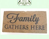 Laser Engraved Brick / Memorial / Tree Marker / New Construction/ Gift / Customized & Personalized Free