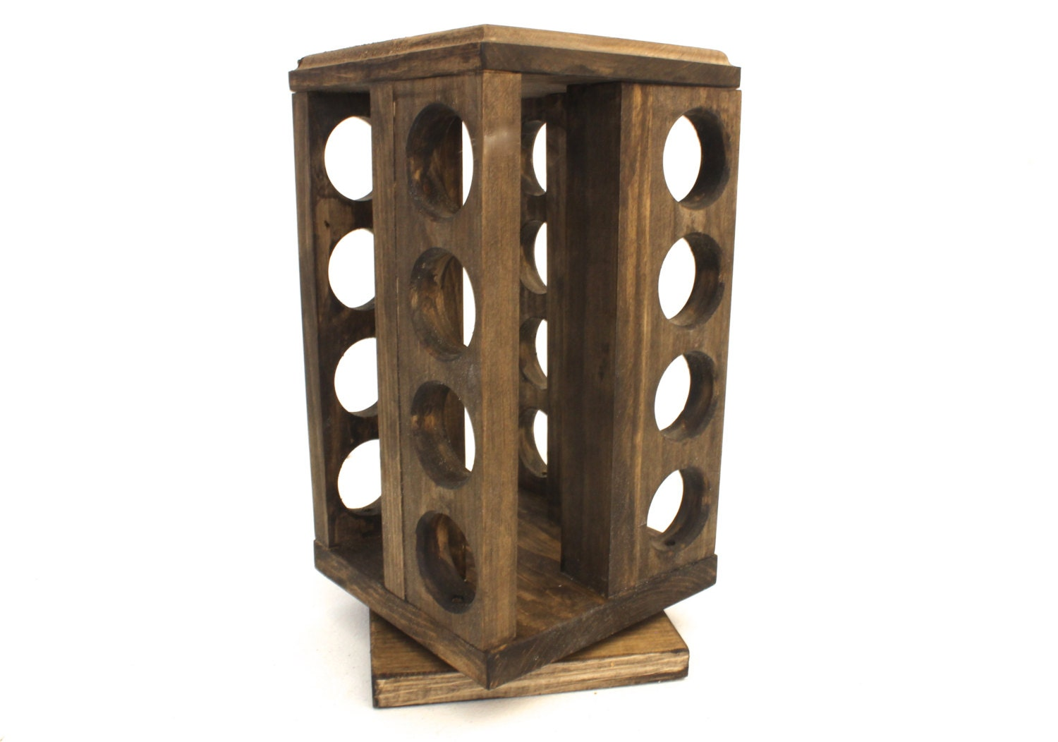 spice rack holder wooden 2 tier spice rack holder holds upto 10 spice and broom holder. Black Bedroom Furniture Sets. Home Design Ideas