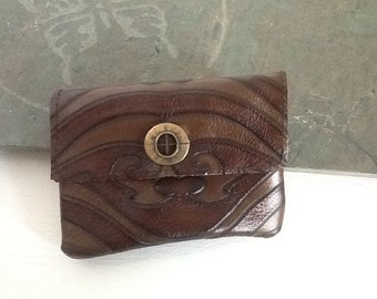 Repurposed leather I phone cover, sleeve,small purse,wallet
