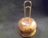 Handcrafted Walnut, Note/Recipe Holder