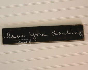 Personalized Hand writing wooden sign. Remember loved ones with this piece displaying their exact handwriting