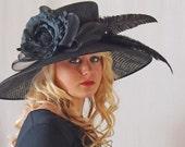 Fabulous Black Derby Hat